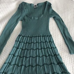 M missoni sweater knit dress size 40